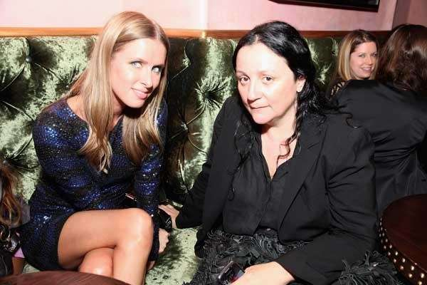 Nikki Hilton, left, and Kelly Cutrone at Rebecca