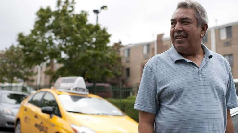 Taxi driver Mohammed Shukran is one of the