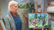 Doug Reina's painting
