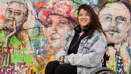 Jazmine Duran of the Bronx, 17, a senior