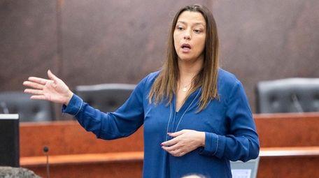 State Sen. Monica Martinez (D-Brentwood), seen on Feb.