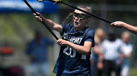 Northport's Kaylie Mackiewicz scores the Tigers' seventh goal