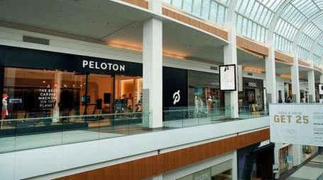 Peloton's Roosevelt Field mall store is eight times