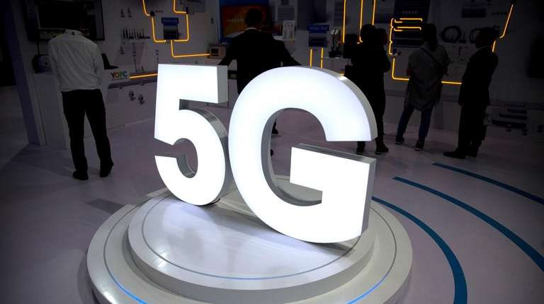 The 5G logo for Chinese fiber optic cable