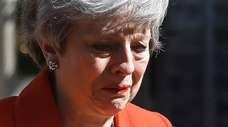 Theresa May announces in May she would step