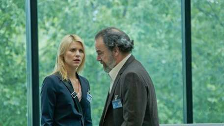 Claire Danes stars as Carrie Mathison and Mandy