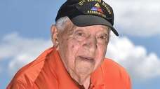 Jim Uvena, s 100-year-old Huntington resident who fought