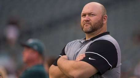 Joe Douglas, the Eagles' vice president of player