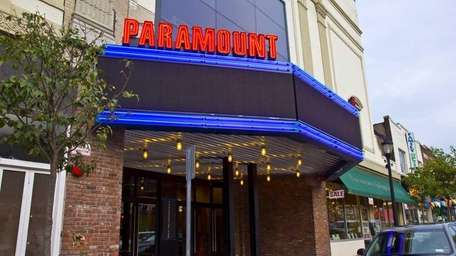 The Paramount Theater on New York Avenue in