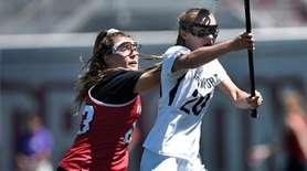 Northport's Kaylie Mackiewicz takes a shot on goal