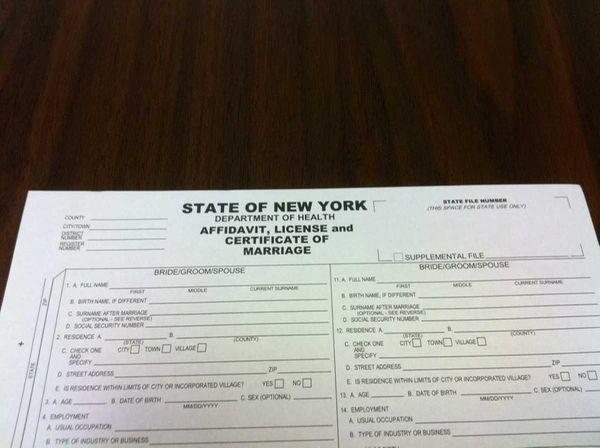 New york city wedding license tbrbfo new york city wedding license tbrb info yadclub Gallery