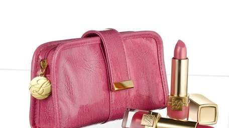 The Estee Lauder Pink Ribbon Collection, assembled especially