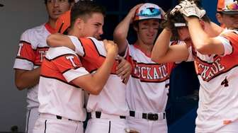 Tuckahoe players are upset after losing to Pierson.