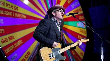 Elvis Costello plays The Paramount Theater in Huntington.