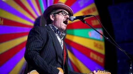 Elvis Costello plays The Paramount Theater in Huntington.