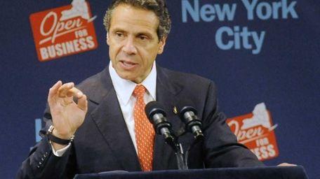 New York Gov. Andrew Cuomo (Sept. 27, 2011)