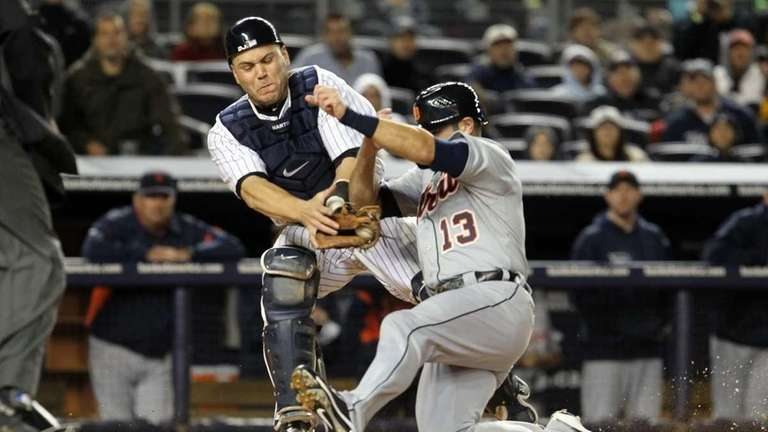 Russell Martin #55 of the New York Yankees