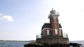 Stepping Stones Lighthouse off shore north west of