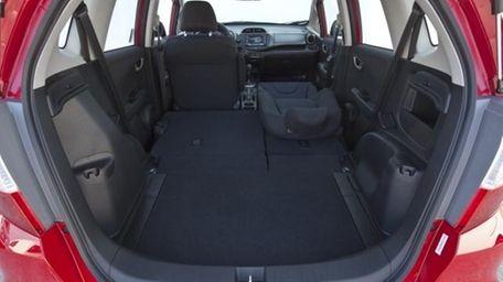 2012 Honda Fit interior.