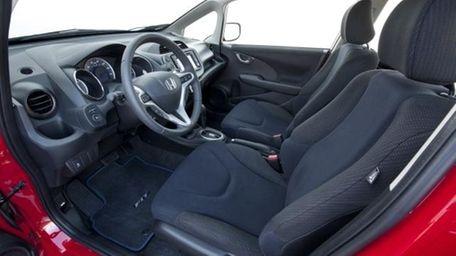 2012 Honda Fit driver's seat