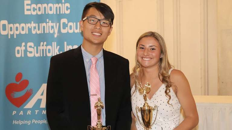 Loui Chen of Newfield and Katherine Kelly of