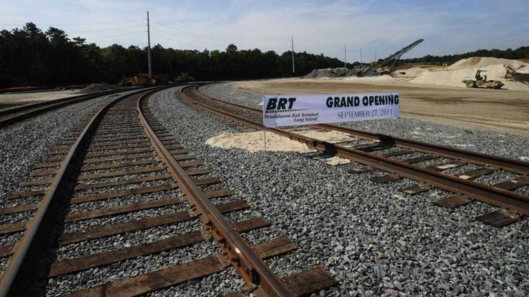 The Brookhaven Rail Terminal is now open for