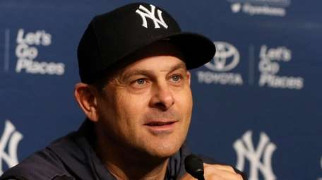 Yankees manager Aaron Boone is a fan of