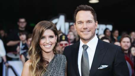 Katherine Schwarzenegger and Chris Pratt attend the Los