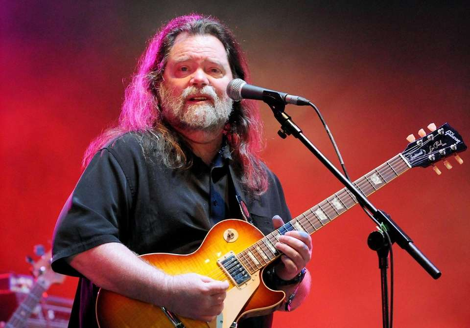 Roky Erickson, the blue-eyed, dark-haired Texan who headed