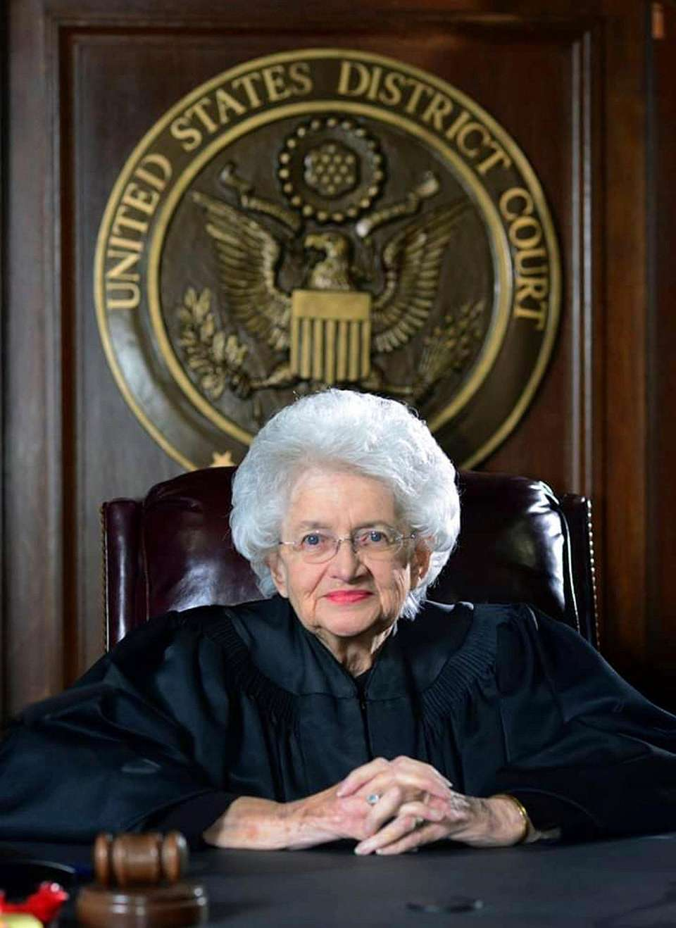 Retired U.S. District Judge Ellen Bree Burns, the