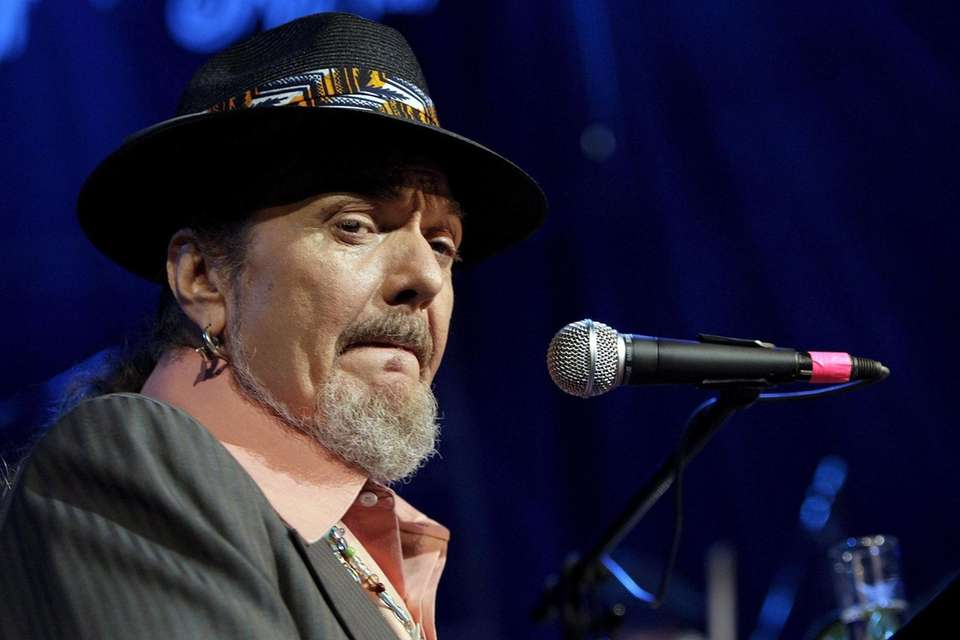 Dr. John, the New Orleans singer and piano
