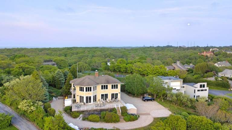 This Montauk home is about 100 feet above