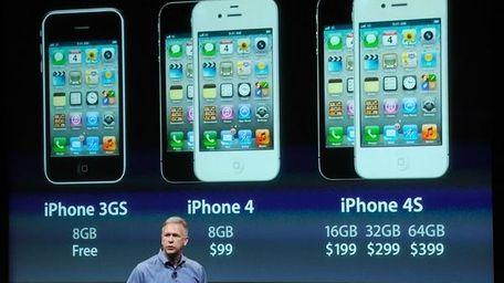 Sr. Apple VP Phil Schiller discusses the iPhone.