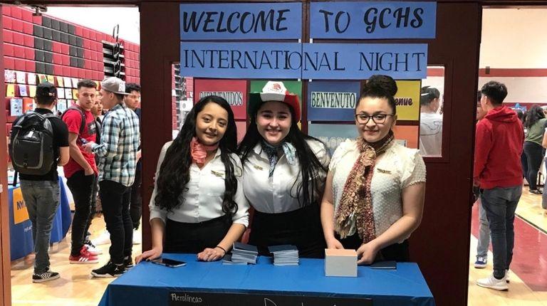 Glen Cove High School hosted an International Night