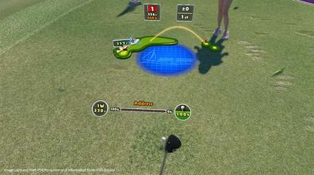 Everybody's Golf VR uses motion controls to mimic