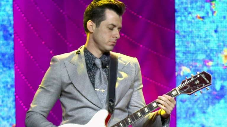 Mark Ronson, seen on May 8, 2018, conjures