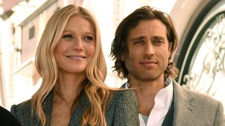 Gwyneth Paltrow, and her husband, writer/director/producer Brad Falchuck