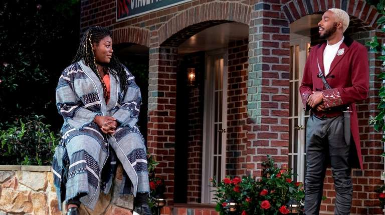 Danielle Brooks and Grantham Coleman star as Beatrice