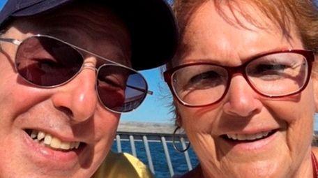 Joe and Kathleen Falco of Amityville on a