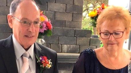 Joe and Kathleen Falco of Amityville on their