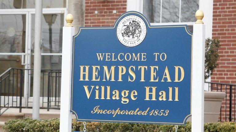 Hempstead Village Hall in 2016.