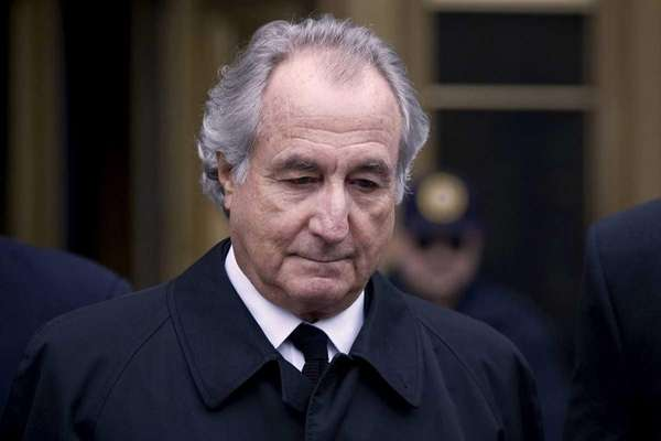 Convicted financier Bernard Madoff is serving a 150-year