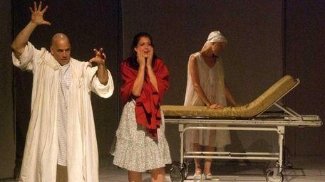 Steven Lantz-Gefroh as Prospero, Diana Lucia as Miranda