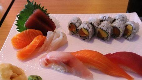 Sushi-sashimi lunch special at Kabuki, Lindenhurst