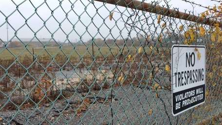The abandoned Cerro Wire site in the Town
