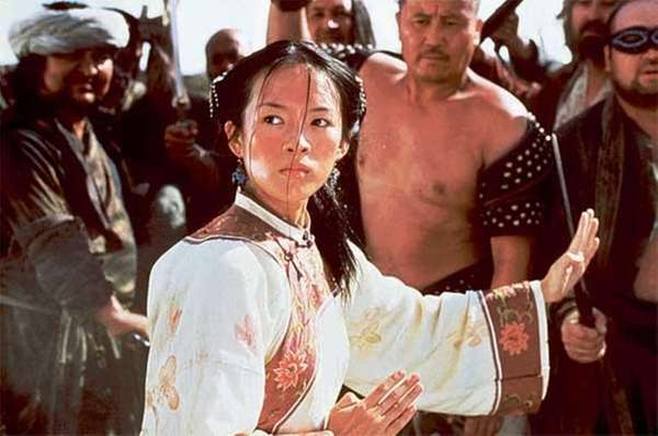 Zhang Ziyi appears in a scene from the