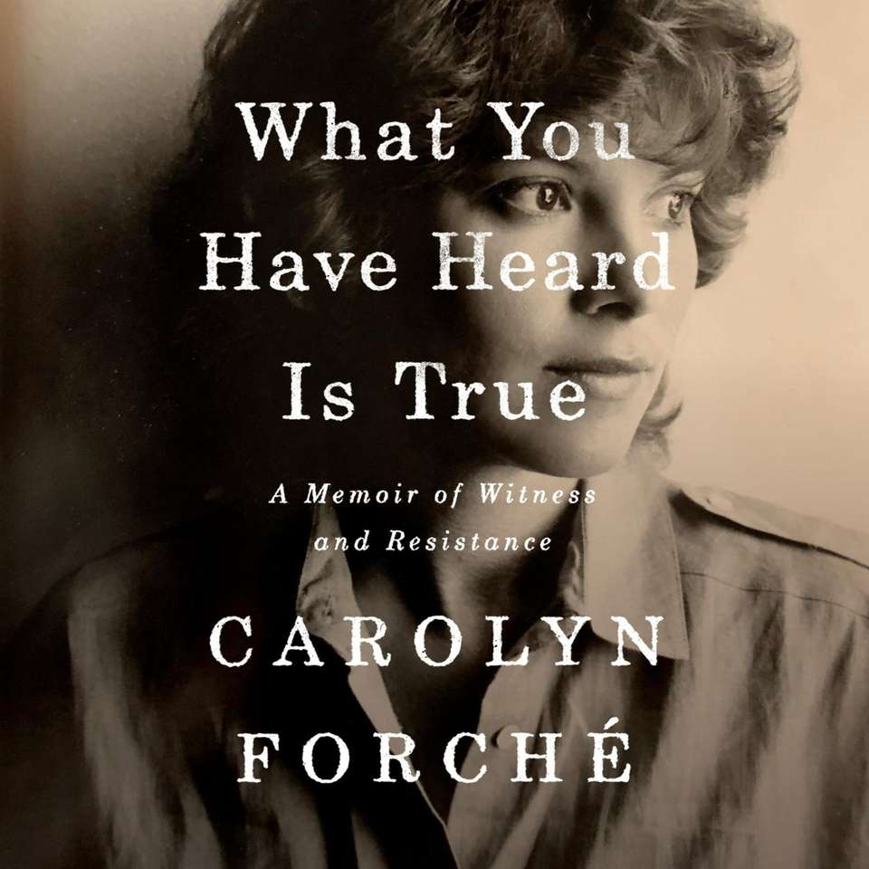 Carolyn Forché was a 27-year-old poet and teacher