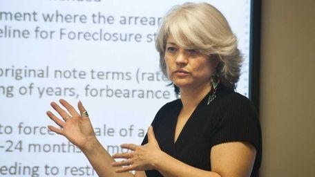 Joan LaFemina of the Community Development Corp. of