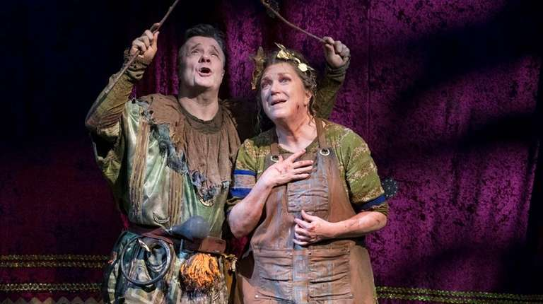 Nathan Lane and Kristine Nielsen star in Taylor