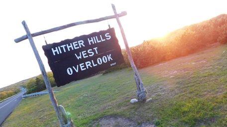 Hither Hills West Overlook, Montauk.